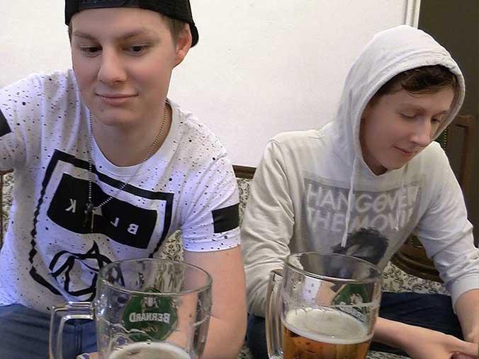 Czech Hunter 297 - Two very hot czech gay teenagers